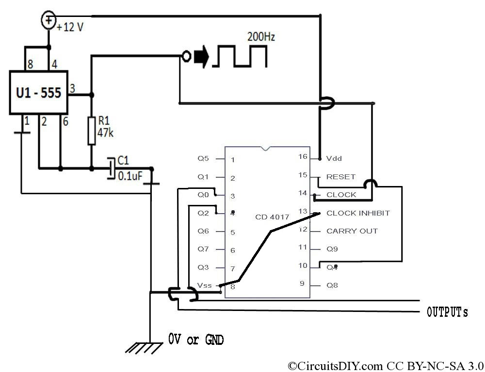 simplest modified sinewave inverter without