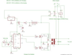 inverter circuit complete project