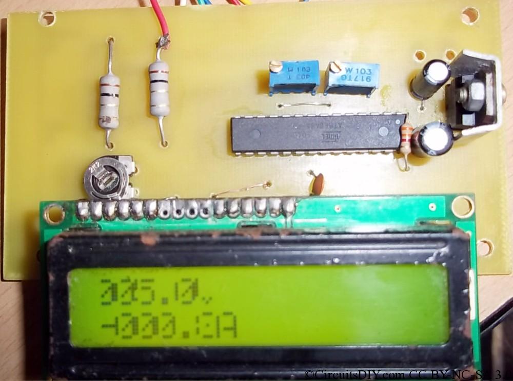 PCB update: Atmega8 Volt-Ammeter and USB AVR programmer