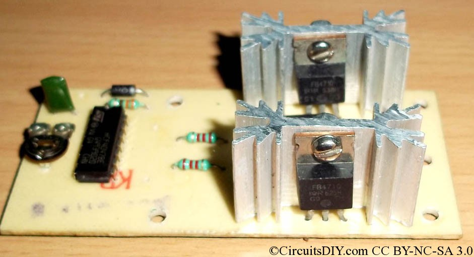 100VA to 220VA MOSFET based Inverter kit circuit Circuits DIY