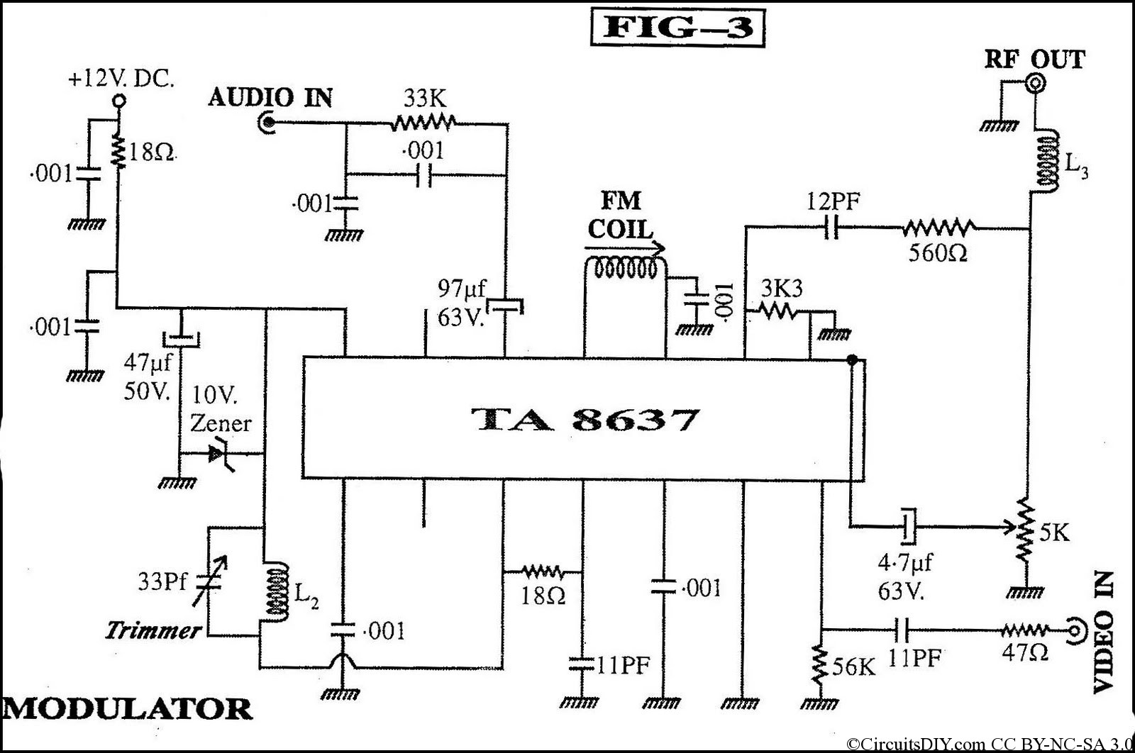 Receiver Circuit Diagram | Homemade Dth Receiver Diagram Circuits Diy