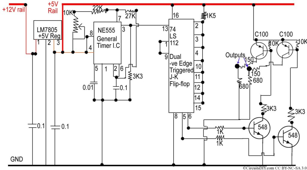 Inverter circuit Oscillator Board