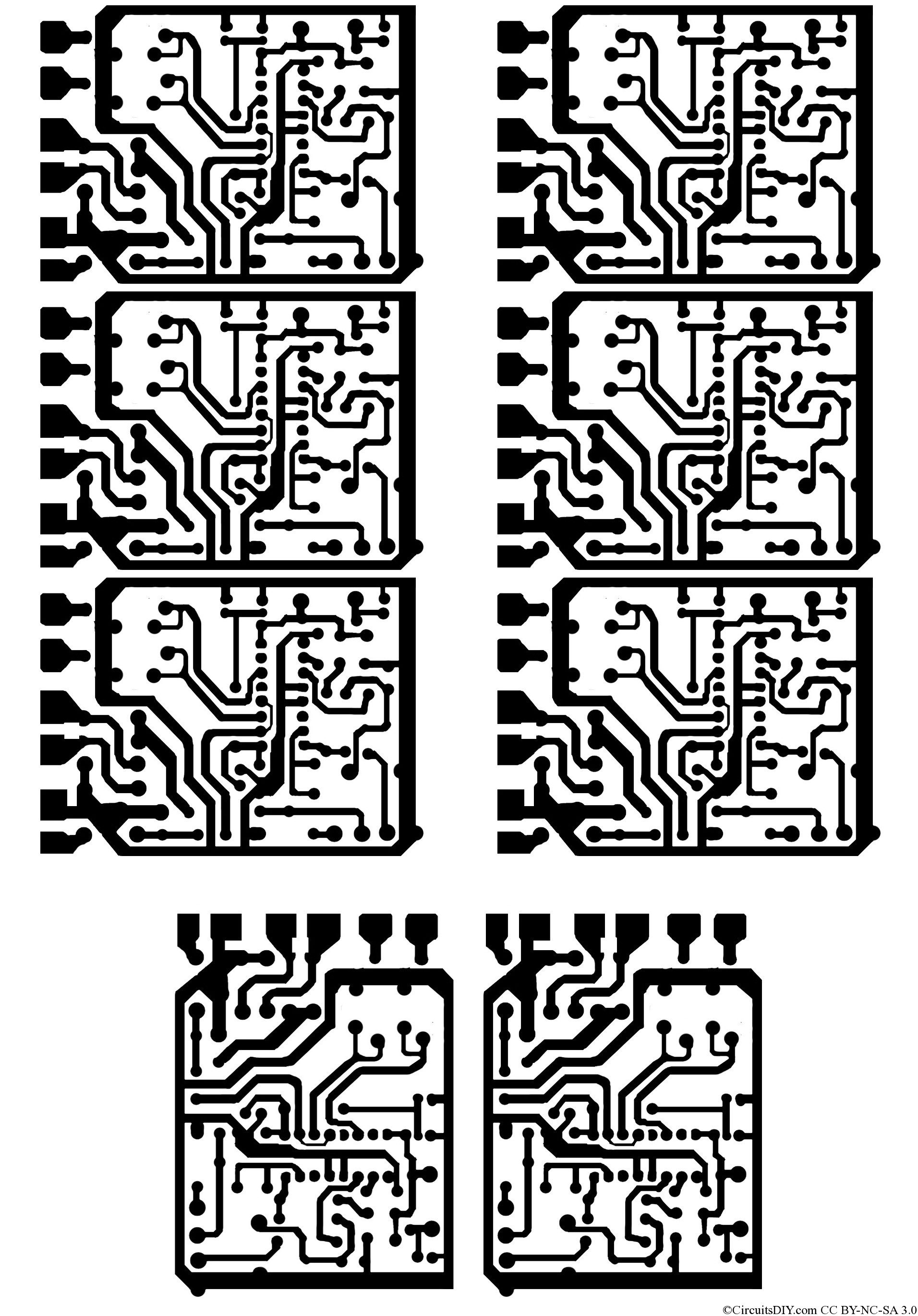 Wiring Machine 500w Mosfet Power Inverter From 12v To 110v 220v Circuit Board Download Pcb Layout File Below Print It In A A4 Size