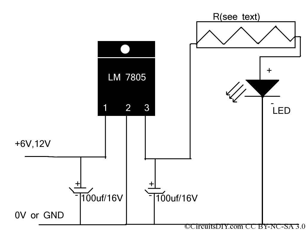 Led Driver Circuit Schematic Cree Lighting Wiring Diagram Cheapest High Power Circuits Diy Rh Circuitsdiy Com 12v Pwm Ic