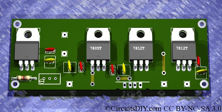 Yet another regulated power supply board