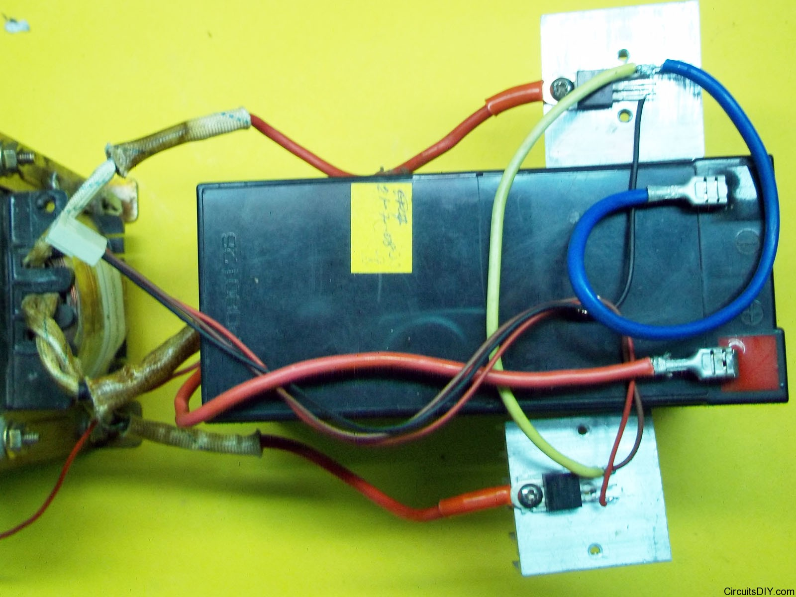 Step By Make An Inverters Power Stage Mosfet Circuits Diy Circuit Diagram Of Inverter