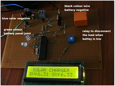 Zero drop dusk to dawn solar charge controller by Sandeep