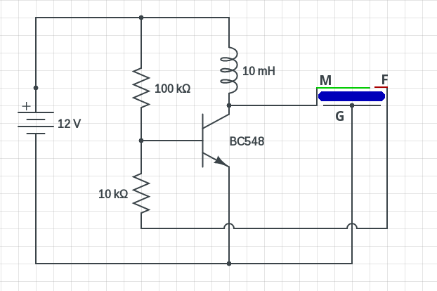 Simple Piezo Buzzer Circuit Diagram on buzzer coil