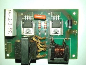 20 watt CFL inverter circuit
