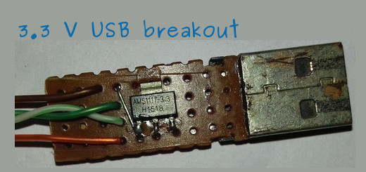 DIY 3.3V USB breakout board, LVTTL and LVCMOS compatible