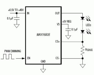 max16835 reference circuit diagram
