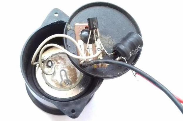 Piezo buzzer Circuit build with BT66T