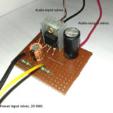 TDA2003 amplifier circuit build