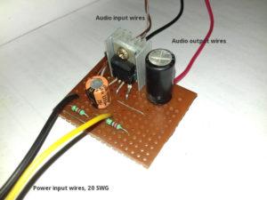 TDA2003 amplifier circuit build