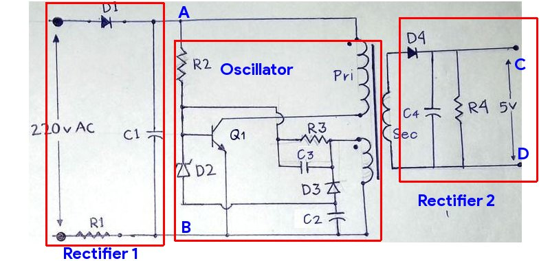 Mobile charger circuit diagram 100 220v ac circuits diy samsung mobile charger circuit ccuart