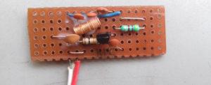 C9018 miniature FM transmitter circuit