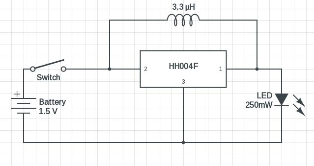 HH004F LED driver