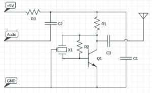 shortwave transmitter circuit diagram