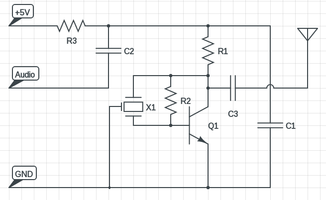 shortwave transmitter circuit diagram