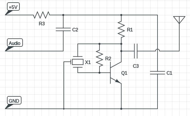 shortwave radio transmitter circuit diagram